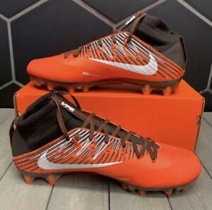 Details about Nike Vapor Untouchable 2 Football Cleats Orange/Brown 835646  208 Men's Size 14.5