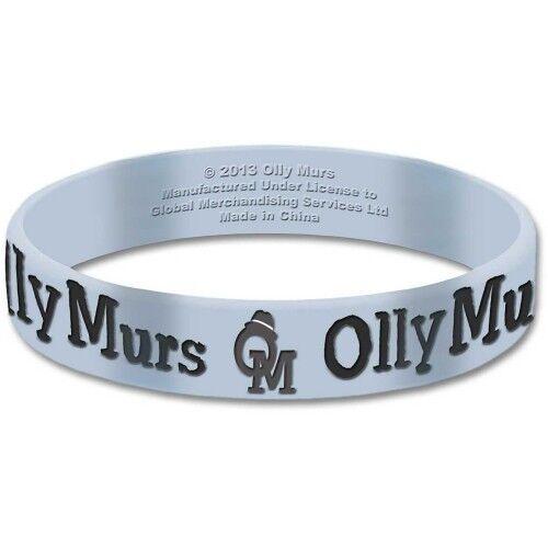 Olly Murs blauen Armband Gummibärchen Gummiarmband logo offiziellen