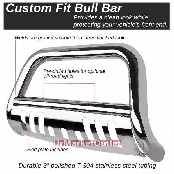 03-09 BULL BAR 75mm DODGE RAM 2500 3500 Frontbumper BUMPER Skid Plate SS