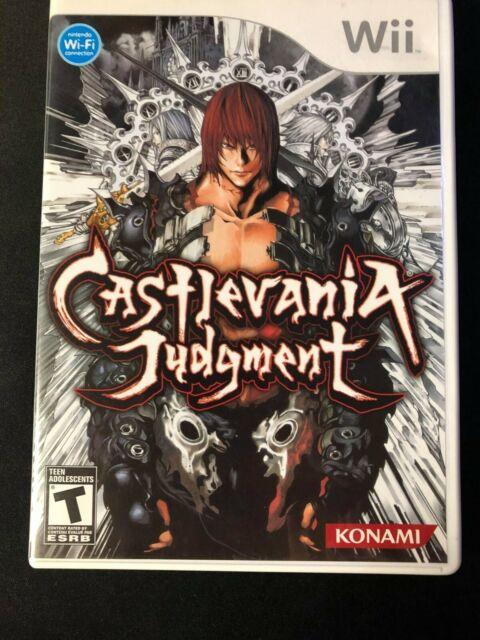 Castlevania: Judgement (Nintendo Wii, 2008) Complete