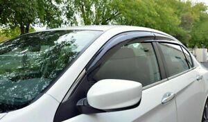 For-2013-2017-Honda-Accord-4-Dr-JDM-MUGEN-Style-Side-Window-Rain-Deflectors