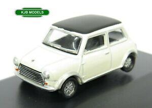 BNIB-OO-GAUGE-OXFORD-1-76-76MCS004-Mini-Cooper-S-MkII-Snowberry-White-Black-Car