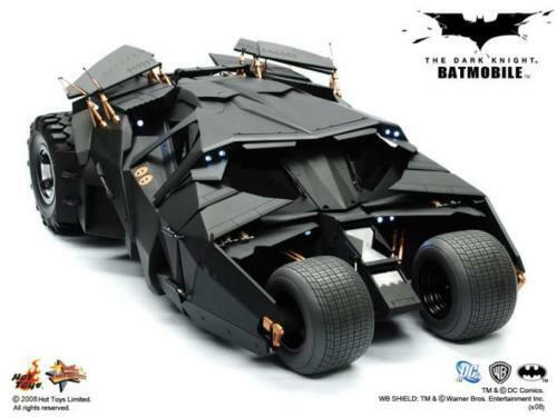 Hot Toys 1 6 Batman The Dark Knight TDK Batmobile Tumbler MMS69 Japan opened