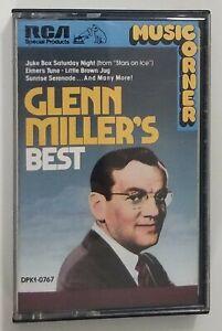 Glenn Millers Best Cassette Tape Glenn Miller 1987 RCA