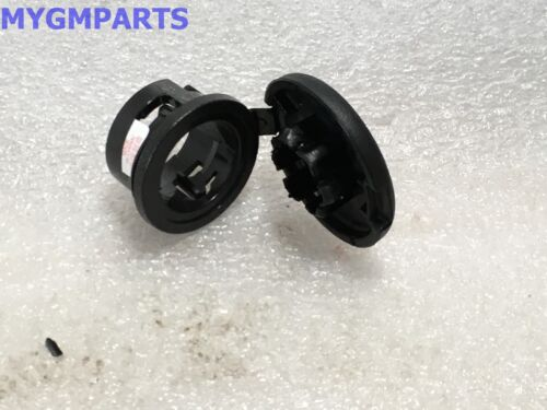 CADILLAC SRX TETHERED BLACK POWER OUTLET CAP 2010-2016 NEW OEM GM 13504000