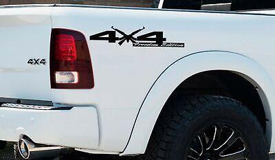 4X4 Freedom Edition Shotgun Vinyl Decal Fit Dodge Truck 2006-2017 1500 2500 3500