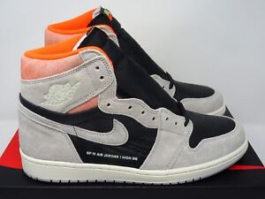 56d23a6d4c06 Details about Nike Air Jordan 1 Retro High Hyper Crimson Neutral Grey UK 5  6 7 8 9 10 11 12 US