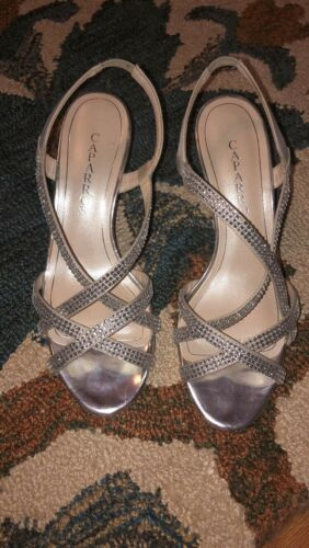 womens Sliver shoes 8