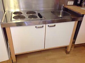 Ikea varde kuchenschrank spule amatur kochfeld top zustand for Amatur küche