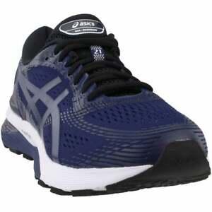 ASICS-Gel-Nimbus-21-Mens-Running-Sneakers-Shoes-Navy