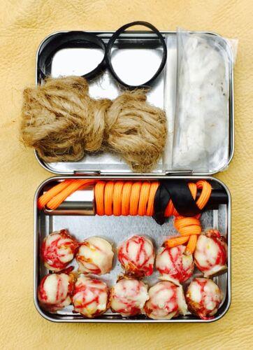 Search /& Rescue Kit S.A.R Now W// TITAN Cord TM Tin W// New FERROSTRIKE V-3