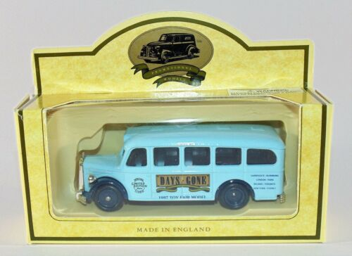 Lledo Days Gone Mercedes Benz Bus Limited Edition 1997 Toy Fair London//Paris etc