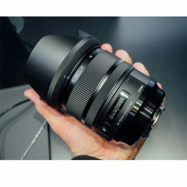 Sigma 24-70mm f/2.8 DG OS HSM Art Lens for Canon EF  Auténtic