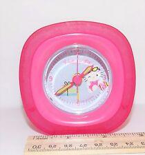 Hello Kitty Analog Alarm Clock Compact Design Battery Operated Sanrio 2005