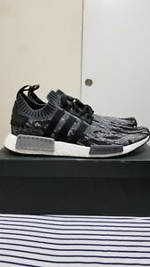 reputable site ad3e7 c7c77 Details about Adidas NMD R1 PK core black