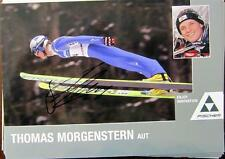 Thomas Morgenstern- AUTOGRAMM- KARTE- ORIG. AUTOGRAMM