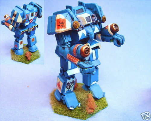 Battletech painted Warlord battlemech BR