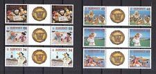 Alderney 2000 postfrisch Stegpaar MiNr. 151-156 Fernsehtrickfiguren Wombles