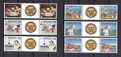 Frank Alderney 2000 Postfrisch Stegpaar Minr Stamps 151-156 Fernsehtrickfiguren Wombles Aromatic Character And Agreeable Taste