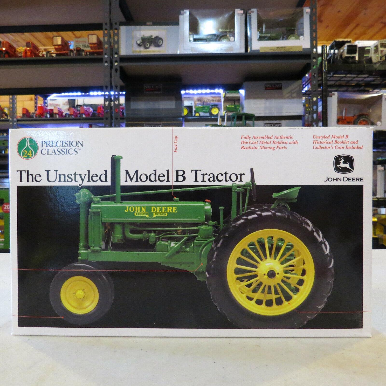 ERTL PRECISION JOHN  DEERE B NF tracteur a évoqué Les Pneus en Caoutchouc unstyled JD456  magasin en ligne