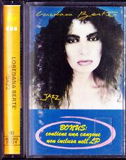 LOREDANA BERTE | Rara MC | JAZZ | Con BONUS Brano INEDITO | 1à STAMPA | K7 1983