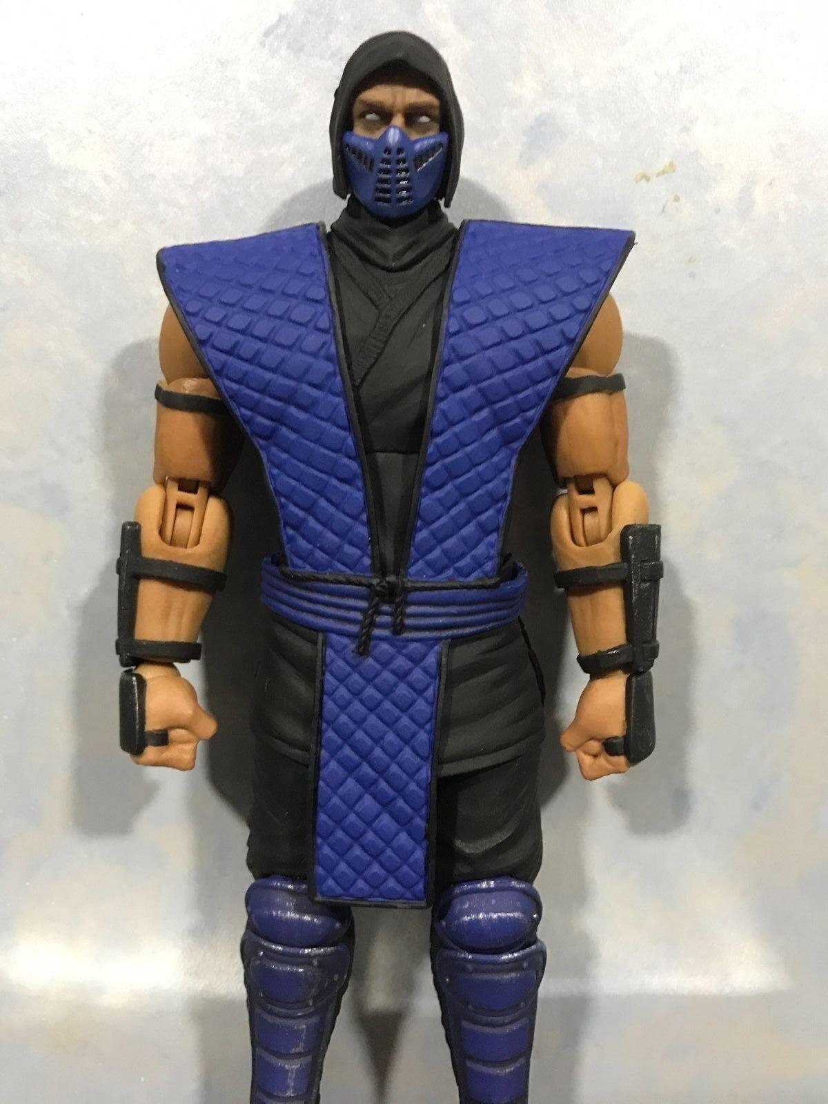 (en Stock, normal ver.) tormenta Coleccionables Mortal Kombat Sub Zero 1 12 figura