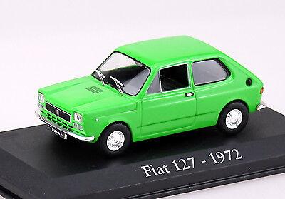 Die cast 1//43 Modellino Auto Fiat 127 Verde 1972