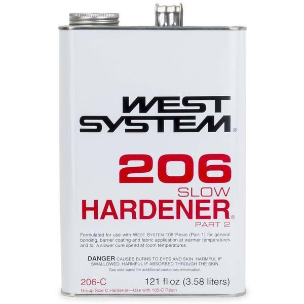 Wests System Stiefel Marine 206-C Langsam Härter .94 Part 2 .94 Härter Gallone 6cbe3d