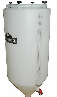 Conical Fermenter tank 80 L Winemaking Homebrewing Beer Wine fermentation