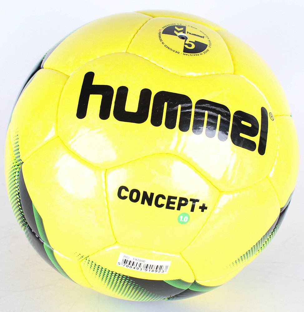 Hummel Adulto Fútbol 1.0 Concept Plus, Amarillo  negro  verde Gecko ,