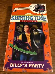 Shining-Time-Station-Billy-039-s-Party-VHS-VCR-Video-Tape-Movie-Used-RARE