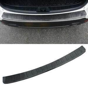 For-Subaru-Forester-SK-2019-Car-Black-Rear-Bumper-Protector-Plate-Cover-Trim