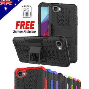 Heavy-Duty-Tough-Kickstand-Strong-Shockproof-Case-Cover-For-LG-Q6