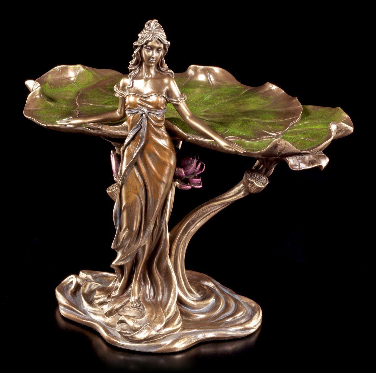 Estilo Moderno Carcasa - damen con Nenúfares - Veronese Art Nouveau - Figura