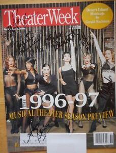 Details about Signed Theater Week Magazine Chicago Bebe Neuwirth Ann  Reinking Denise Faye +3