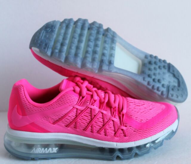 separation shoes 0be42 5b41f NIKE AIR MAX 2015 (GS) PINK POW-VIVID PINK SZ 6.5Y-