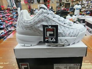 Details about FILA WOMEN . DISRUPTOR II MULTI. WHT/FNVY/FRED