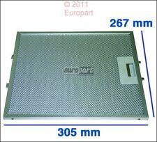Metall Fettfilter Dunstabzugshaube 305x267mm 405509917-2 AEG Elektrolux Alno