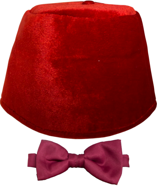 Doctor Who--Doctor Who - Fez and Bow Tie Set