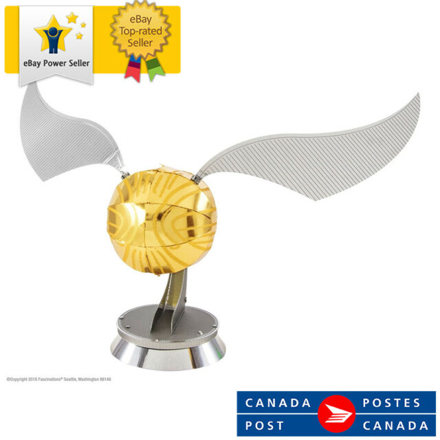 Metal Earth 3D Model - Harry Potter Golden Snitch MMS442 - Assembly Required