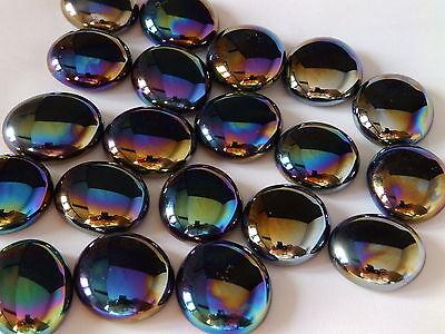 Decorative Glass Pebbles / Stones / Mosaic Tiles ~ Various Colours & Quantities