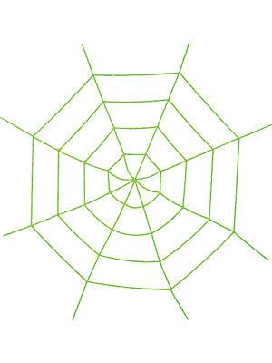 Creepy Crawly Corner Spider Web With Arachnid Decoration