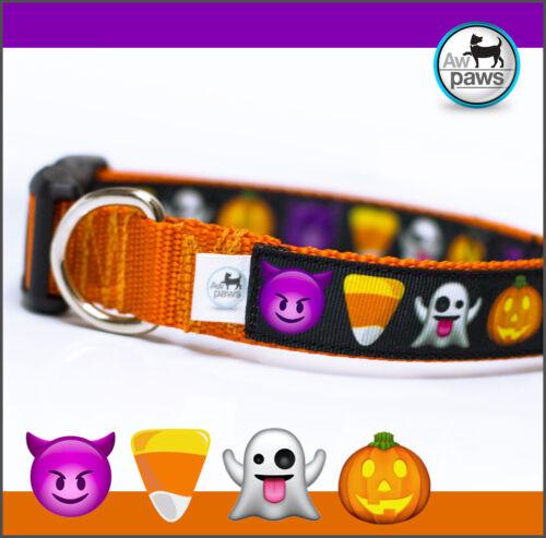 Halloween Emojis Dog Collar
