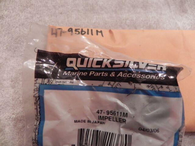 New Mercury Mercruiser Quicksilver Oem Part # 47-95611M Impeller