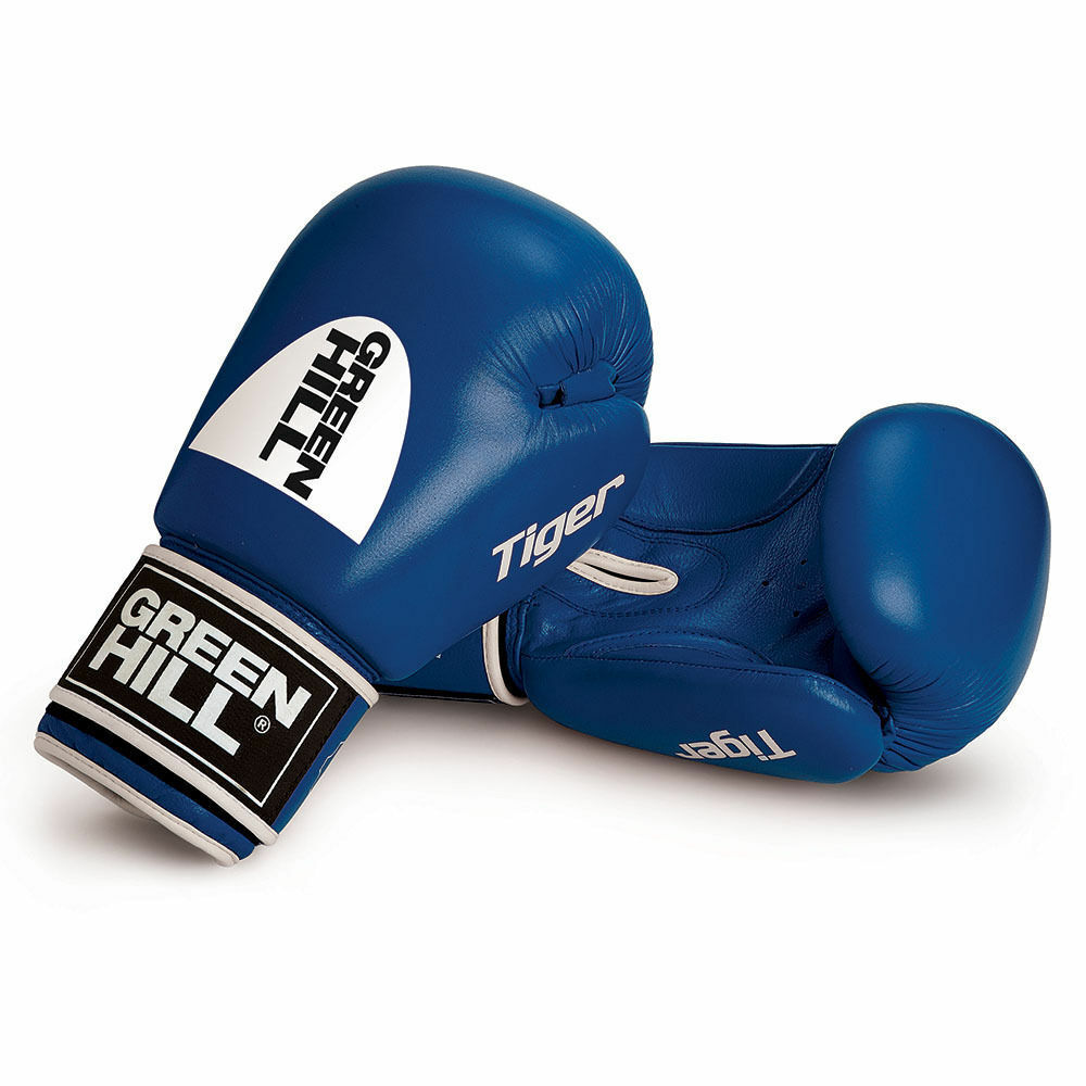 Grünhill Tiger Boxing Gloves Cowhide Leder Leder Leder Competition Training Sparring 9f665d