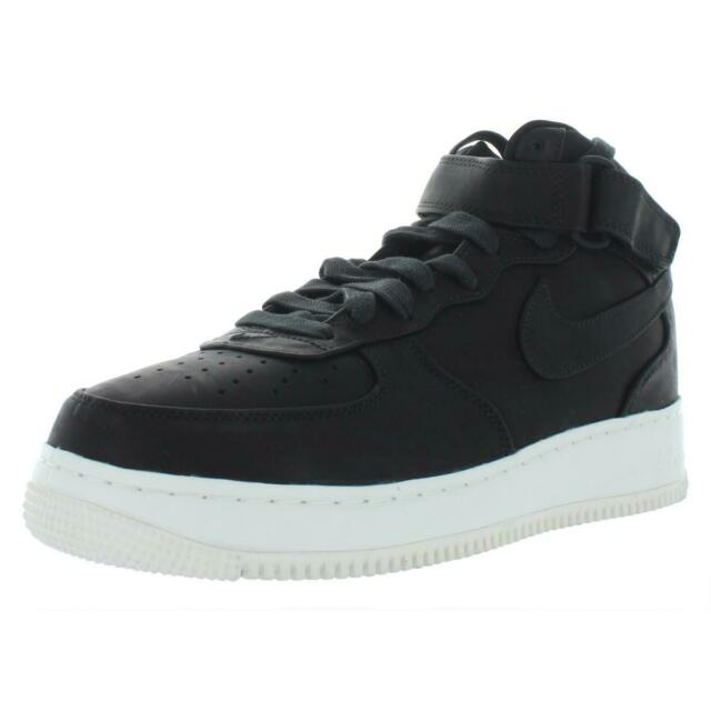 new styles bfefa 3a9fe Nike Mens Nikelab Air Force 1 MID Leather Athletic Shoes Sneakers BHFO 7442
