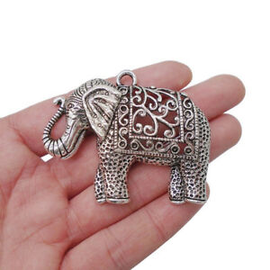 Jewelry & Watches Elephant Pendants Lot Of 5 Fashion Jewelry