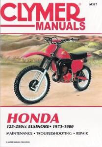 Vintage Honda Field Service Representatives Clinic Manual 1973 CR250 90247
