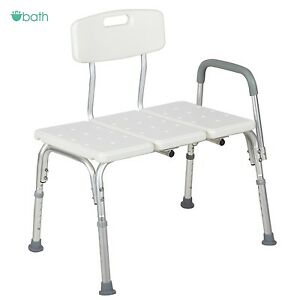 Medical-Shower-Chair-10-Adjustable-Height-Bath-Tub-Bench-Stool-Seat-Back-and-Arm