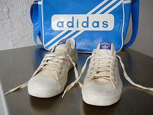 best sneakers 5666b 475f7 Das Bild wird geladen Original-Vintage-80er-Adidas-Tennis-UK-10